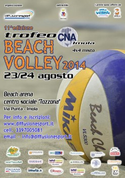 locandina Beach volley 14